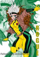 Rogue X-men by Fallenangelj