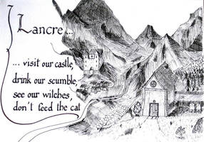 Postcard from Lancre (Discworld, Terry Pratchett) by Mirliton-Herisson