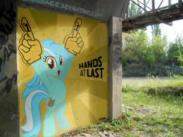 Lyra Heartstrings Graffiti by ShinodaGE