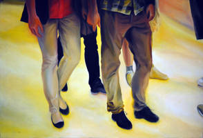 The big date, 2013, 120-80cm, oil on canvas by oanaunciuleanu