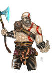 Kratos - God of War by ChrisPapantoniou