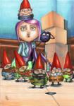 Gnome Alone!! by ChrisPapantoniou
