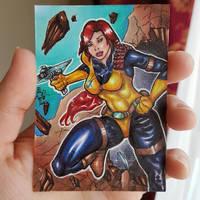 Scarlett from G.I. Joe! by ChrisPapantoniou