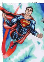 Man Of Steel!! by ChrisPapantoniou