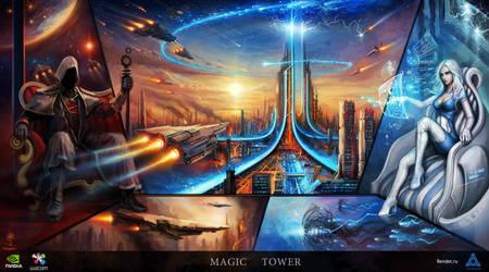Magic Tower by haryarti