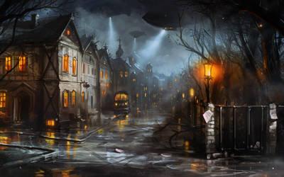 Stream_DarkTown by haryarti