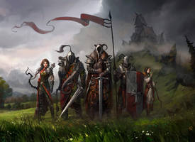 Saga of five by haryarti
