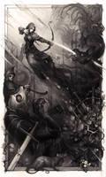 Diablo III fanart contest by haryarti