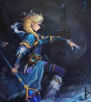 Crystal Maiden by haryarti