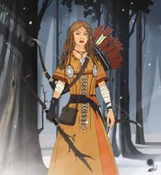 Archer girl by haryarti