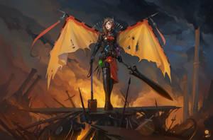 Legion Commander by haryarti