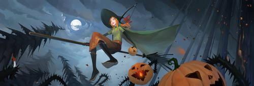Halloween Alette by haryarti