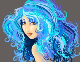 Blue by MegolaTheGreat