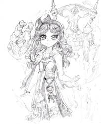 Sara Sketch by Candor-Shade
