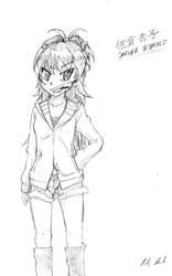 Kyoko 2-18 sketch by Candor-Shade