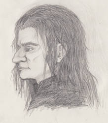 Severus Snape by TelegramSam