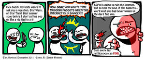 Mystical Dumpster SOPA by com1cr3tard