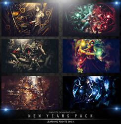 New Year's Pack [LRO] by maiko2b
