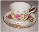Antique Cup and Saucer 5 by Bnspyrd