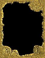 Bdr PostalSteampunk Gold PNG by Bnspyrd