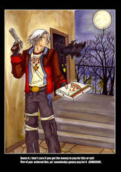 Dante does pizza by ShadeStrife