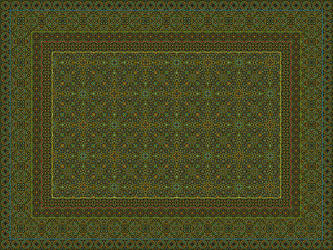 Oriental Rug by Ian-Parberry