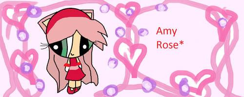 Amy rose (remake) by Henrylaulover255