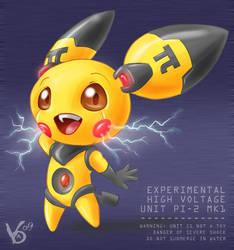 Real electric pokemon:P2 Tesla by Virtual-Blue