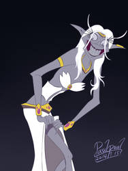 Yzma as Azshara-color by paulpual