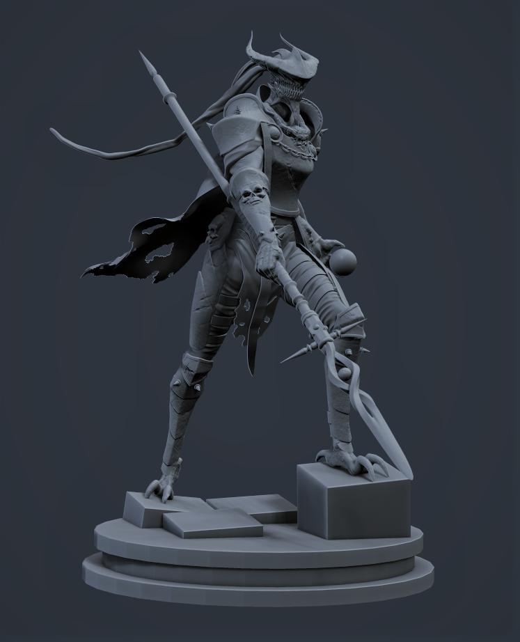 Demon Knight Wip By 0darksoul0 On Deviantart