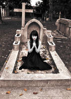 : ghostly prayer : by ladynathz