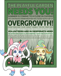 The Playful Garden Needs YOU by MeMiMouse