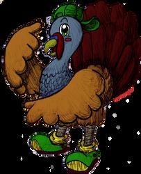 Hampton the Turkey by MeMiMouse