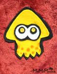 Orange Splatoon Squid Collage by MeMiMouse