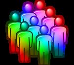 Rainbow Team by MeMiMouse