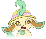 Leafeon Emoji Confused by MeMiMouse