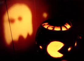 PacMan Pumpkin 02 by Startaft33