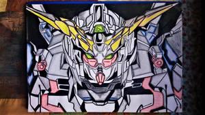Gundam   ---  Unicorn by milkalexandra1234