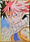 natsu....fairy tail...in color by milkalexandra1234