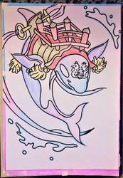 Okami   ....   Orca by milkalexandra1234