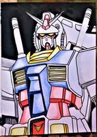 Gundam 0079  my fanart by milkalexandra1234