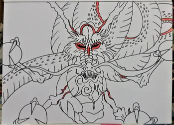 Okami  ... Dragon  yomigami by milkalexandra1234