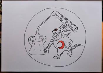 okami ... yumigami by milkalexandra1234