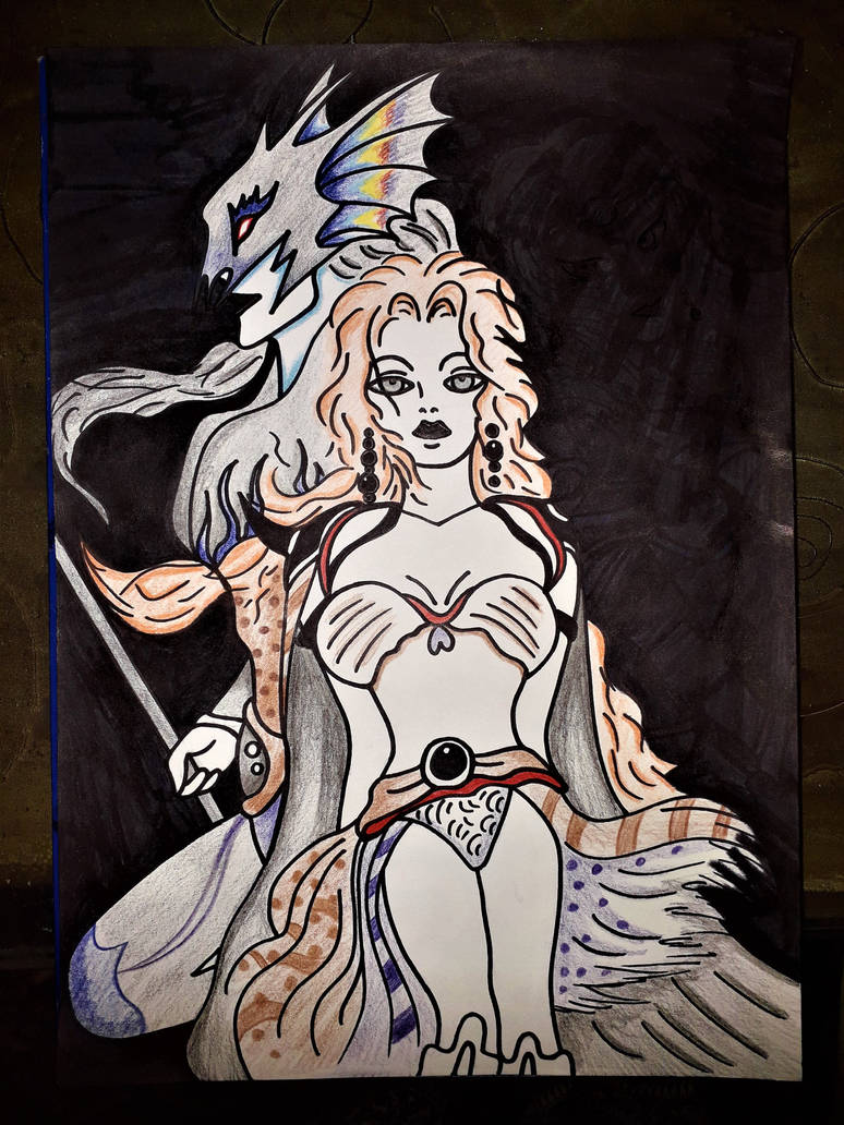 final fantasy iv ... by Drawings-forever