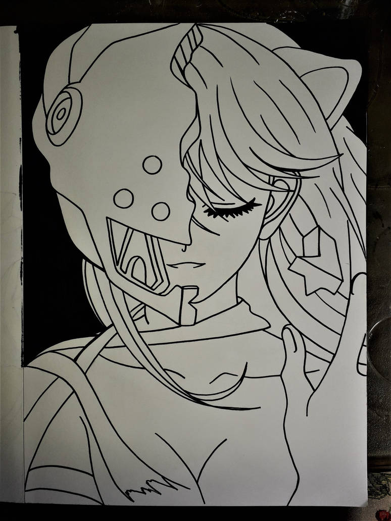 kaede - (lucy) by Drawings-forever