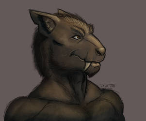 Wolfgang bust by A-Teivos
