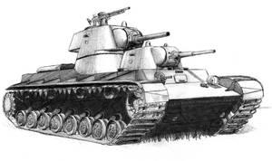 SMK heavy tank by A-Teivos