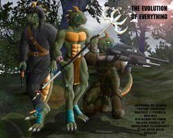 The evolution of everything by A-Teivos