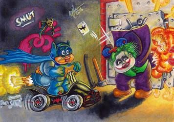 Batty BRAD and Joking JODY by mhxistenz