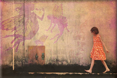 The orange dream by Nedolya